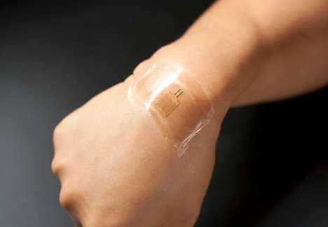 Ingrained Security Tattoos - These Electronic Stamps Will Eliminate the Need for Passwords