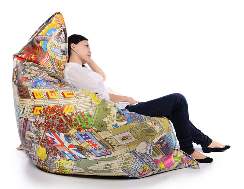 Oversized City-Inspired Seating