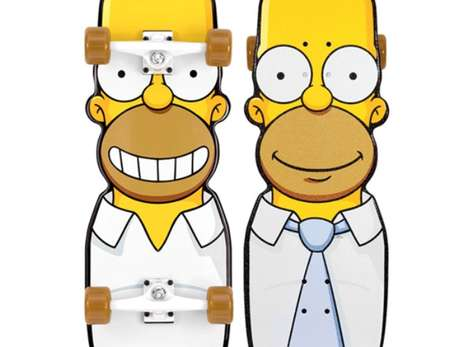 36 Superb Simpsons-Inspired Products - From Cartoon Character Memory Keys to Simpson-Inspired Seats (TrendHunter.com)