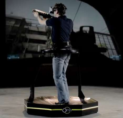 Video Game-Specialized Treadmills - This Virtual Reality Treadmill Should Be Part of Any Game Room