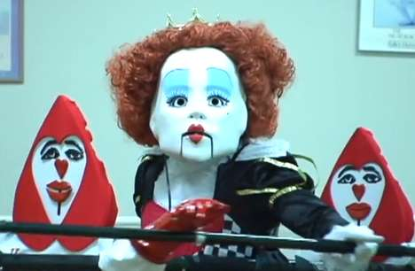 Bizarre One-Man Puppet Shows - The Dancing Queen Performs Hit Songs Using Life-Size Puppets