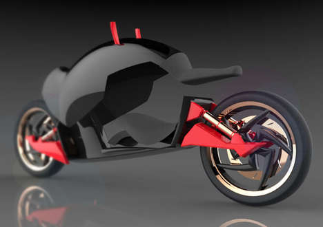 Transforming Two-Wheelers - The Biran Motorcycle Concept Caters to Biking Neophytes