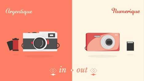 Retro Object Comparison Videos -