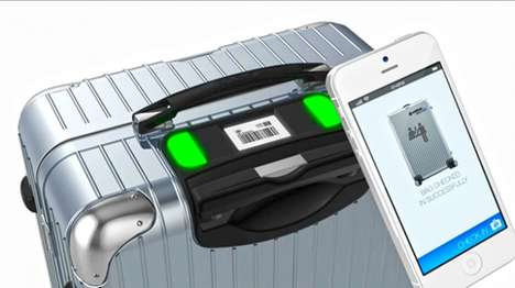 Trackable Luggage Concepts - Bag2Go's RFID Chip Ensures That You'll Never Lose a Bag Again