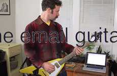 Email-Typing Guitars