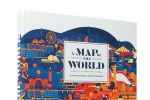 The 'A Map of the World' Book is a Collection of Strange Maps