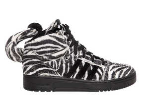 The adidas Originals by Jeremy Scott AW13 Collection is Playfully Bizarre