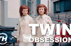 Twin Obsession - Courtney Scharf Talks Twin Photo Shoots Inspired by a Fascination with Duplicity