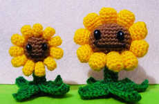 Crocheted Video Game Characters - These Critters are Great for Those Excited by the New Plants vs. Z