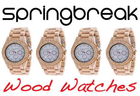 Eco Wooden Watch