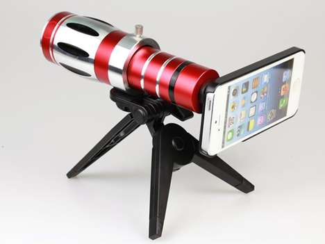 Mini Telescopic Phone Accessories - This iPhone Telescope Lets You Take 20 Times Zoomed Photos