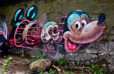 95 Vibrant Street Art Creations