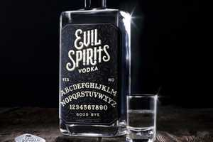 Drink Evil Spirits Vodka if You Dare to Wake Up the Lurking Demons