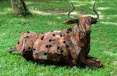 Junk Yard Critter Sculptures