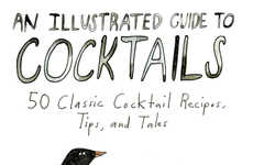 Beastly Booze Books (UPDATE) - An Illustrated Guide to Cocktails Incorporates Cute Animal Artwork