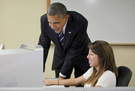Email-Reading President Tumblrs - This Barack Obama Tumblr Makes a Statement About Online Privacy