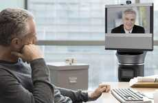 Autopiloted Teleprescence Robots - The Pre-Programmed Ava 500 Will Wander Around the Office