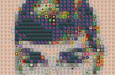 Donut-Infused Mosaics - These Famous Art Pieces are Made With Donuts and Everyday Items