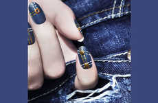 Chic Jean-Clad Nails - The Ciate Denim Manicure Set is Casually Cool