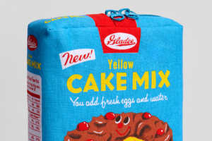 The Yellow Cake Mix Pouch from Fred Flare is Cleverly Chic
