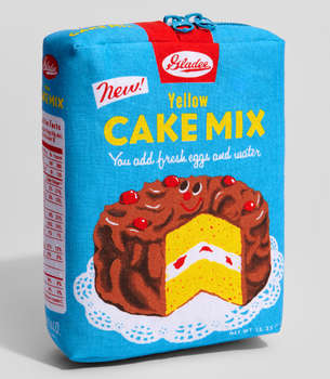 Yellow Cake Mix Pouch