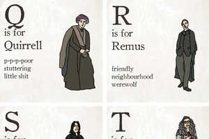 Samantha Esther's Harry Potter Alphabet is Sarcastic and Comical