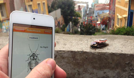 DIY Cyborg Bug Kits - The 'RoboRoach' Kit Lets You Enslave a Cockroach Using Neurosurgery