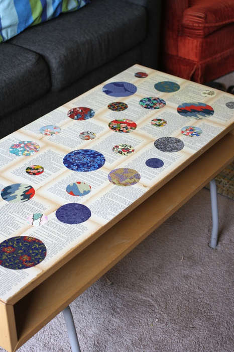 DIY Coffee Table Decorations - This Simple Activity Turns an Ordinary Table into an Artistic Display