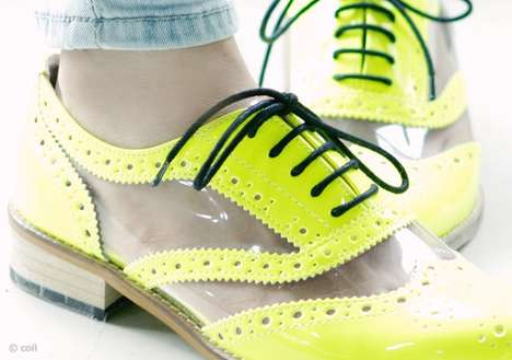 17 Fluorescent-Colored Fashions - From Neon Old School Styles to Highlighter-Hued Kicks