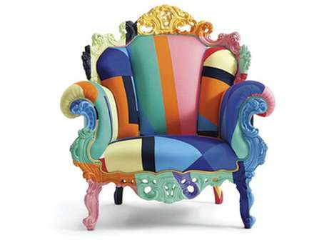 Rainbow-Colored Furniture