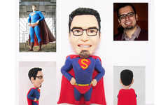 Personalized Superhero Figurines