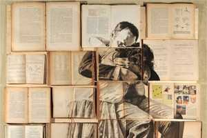 The 'Errata Corrige' Collection Consumes Books with Paintings