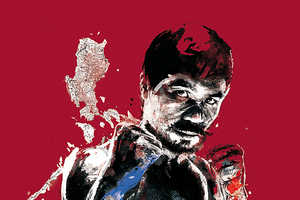 These Nike-Commissioned Florian NICOLLE Works Depict Fierce Fighters