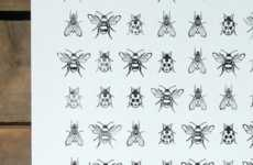 Eco Insect-Inspired Illustrations - Coulson Macleod's Insect Design Adds an Organic Touch to a Room