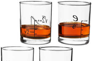 This Math-Themed Drinkware Set is Ideal for Late Night Math Studying