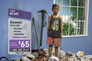 The 'Child for Sale' Commercial Features Children Being Sold Like Objects