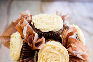 The Father's Day Cupcake Bouquet Boast Manly Ingredients