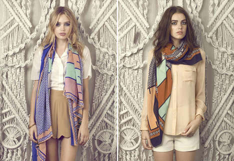 Hand-Crafted Scarves