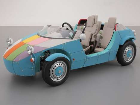 Kid-Centric Car Concepts - The Toyota Camette57s is Targeted at Underage Drivers