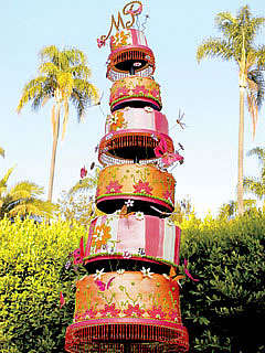 Over-the-Top Wedding Cakes