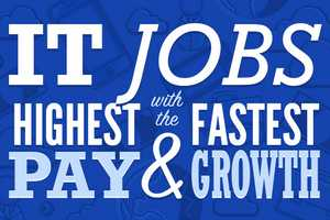 This Infographic Highlights IT Jobs with the Highest Pay and Growth
