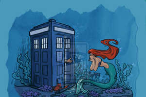 Fairy Tale Characters Receive a Visit from the Doctor