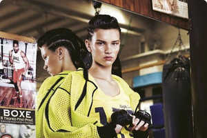 The 'Sul Ring' Editorial Depicts Fashion Fit for Fierce Fighters