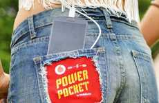 Power-Generating Pockets - The Power Pocket Uses Your Body Heat to Charge Your Phone