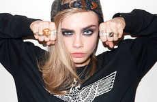 Sassy Punk-Themed Photoshoots