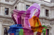 Bright See-Through Installations