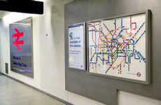 Toy Brick Subway Maps