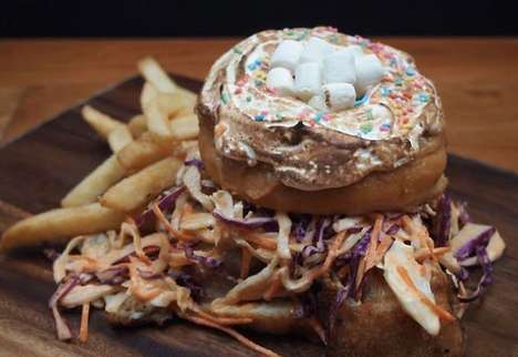 Hot Sauce-Filled Donuts - The Donut Zinger Contains Everything from Hot Sauce to Marshmallows