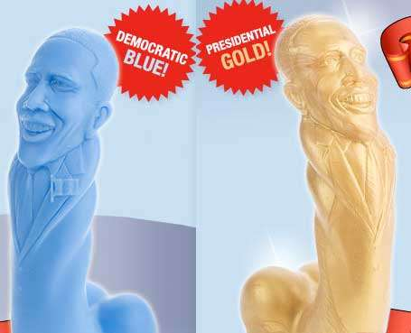 Presidential Pleasure Tools - These Barack Obama Play Toys Give a New Meaning to Head of State