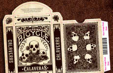 Death-Inspired Playing Cards
